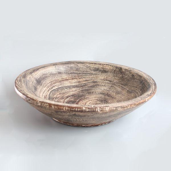 Big brown bowl