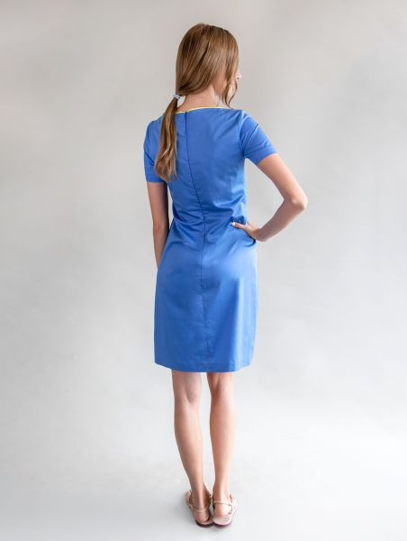 Dress Lynn Azure / Verbene
