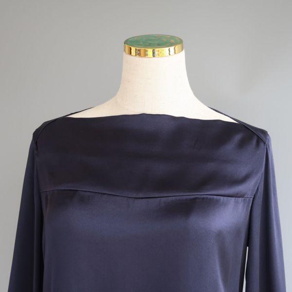 Boat neck PJ blue