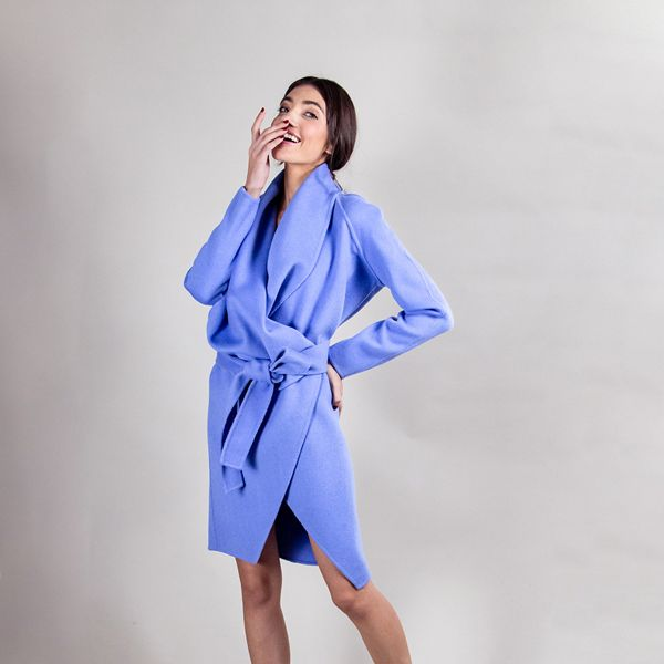 Coat Etienne Cornflower Blue