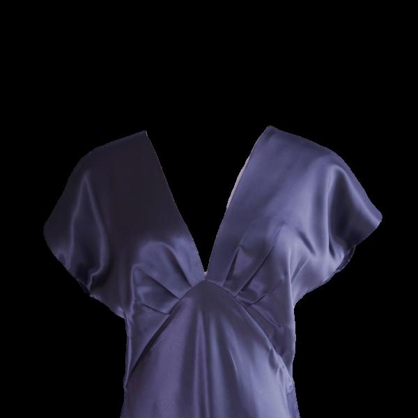 Nightdress Vee Blue