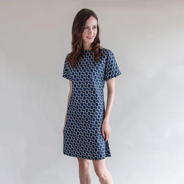 Dress Natalie Blue / Green