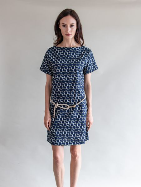 Dress Natalie Blue / Green